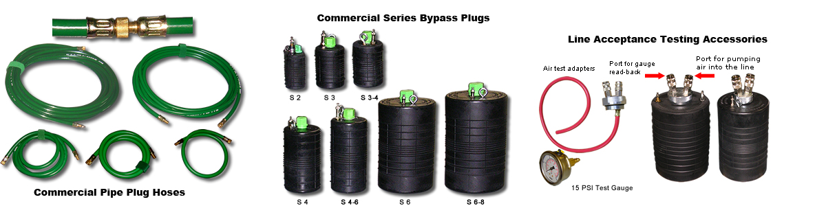 Commercial Blocking and Bypass Plugs