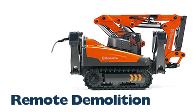Rental Tools Online | Husqvarna Remote Demolition Robots